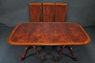Description Finest quality Chippendale style dining room table. Top