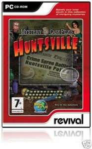 Mystery Case Files Huntsville PC GAME for XP VISTA NEW