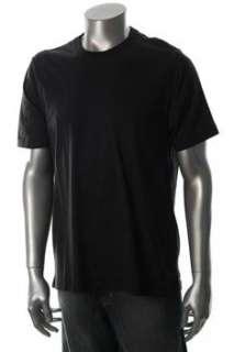 Tasso Elba NEW Mens Black Striped T Shirt L