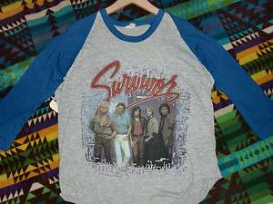 Vintage Survivor Original Vital Signs Tour Shirt 84 85