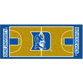 Duke Blue Devils Home Decor Fanmats Duke Blue Devils Basketball Court