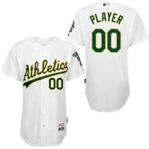 Personalized Wholesale Oakland Athletics Blank White Baseball Jerseys