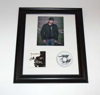 Halfway To Heaven BRANTLEY GILBERT Signed Autographed FRAMED CD Album