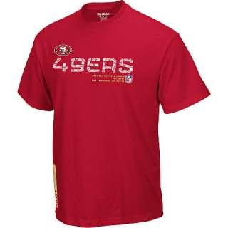 Shirts Reebok San Francisco 49ers Sideline Tacon Short Sleeve T
