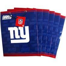 Pro Specialties New York Giants Team Logo Medium Size Gift Bag (6 Pack