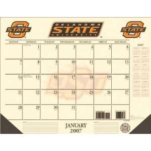 Oklahoma State Cowboys 22x17 Desk Calendar 2007: Sports