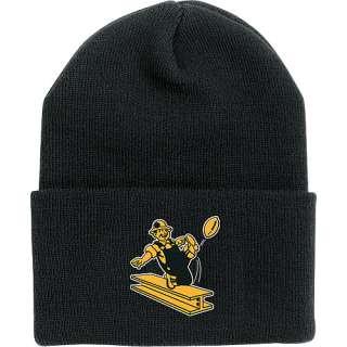 Reebok Pittsburgh Steelers Retro Striped Cuffed Knit Hat