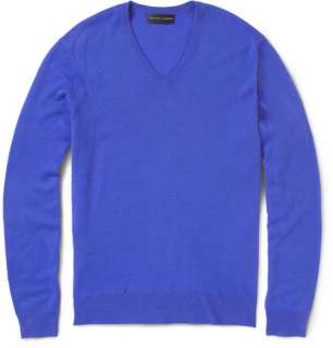 Ralph Lauren Black Label Cashmere V Neck Sweater  MR PORTER