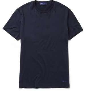 Clothing  T shirts  Crew necks  Cotton Crew Neck T