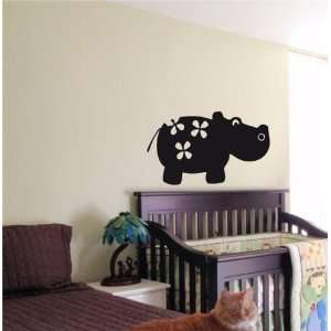 Baby Room Nursery Boy Girl Bedroom Kids Funny Hippo 13: Home & Kitchen