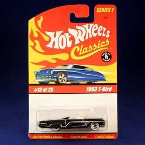 1963 T BIRD (PURPLE) 2004 Hot Wheels Classics 164 Scale SERIES 1 Die