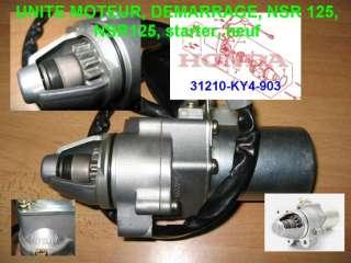 Starter Motor Honda NSR 125, NSR125, JC22, Démarreur