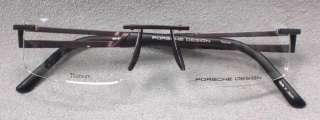 Original PORSCHE DESIGN Brille P8173 col C braun TITAN