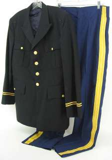 US Army Dress Blue Uniform medical officer
