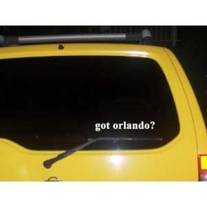 got orlando? Funny decal sticker Brand New Everything