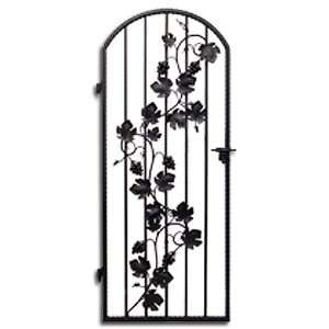 Wine Cellar Wrought Iron Gate Lagos  DW4 36X96, #1978: