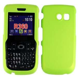 Neon Green Hard Case Cover+LCD Screen Protector+Car Charger for