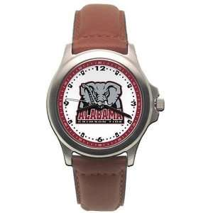 Alabama Crimson Tide Ladies NCAA Rookie Watch (Leather Band)