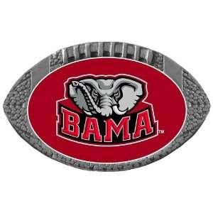 Alabama Crimson Tide NCAA Football One Inch Pewter Lapel