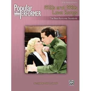 31797 Popular Performer 1920s and 1930s Love Songs Sports & Outdoors