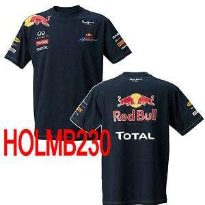 Red Bull Racing Herren T Shirt Replika   Men   Sebastian Vettel