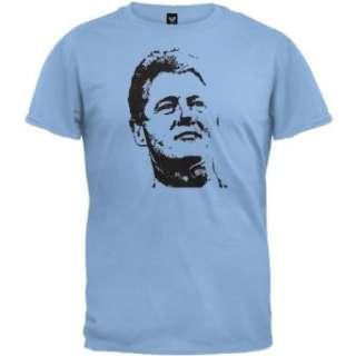 Bill Clinton T Shirt   Blue Clothing