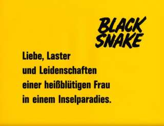 Black Snake ORIG AH Foto Russ Meyer Sklaven Drama HART