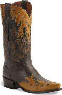 Dan Post Gambler Western Cowboy Leather Boots size 7 13