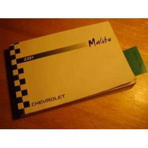2004 Chevrolet Malibu owners manual Chevrolet Books