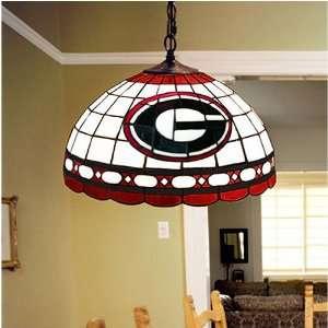 Georgia Bulldogs Tiffany Hanging Lamp: Sports & Outdoors