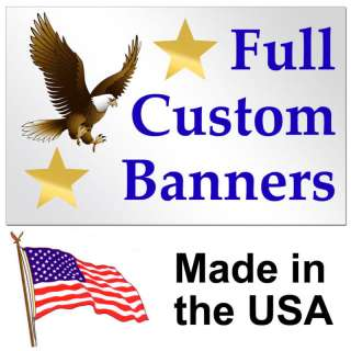 Full Color Custom Banner High Quality Vinyl 2x6