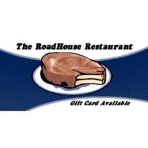 com 3x6 Vinyl Banner   The RoadHouse Restaurant Gift Everything Else