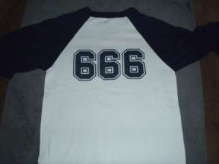Iron Maiden Fan Club Limited Edition 666 Jersey Size M