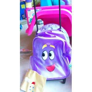 Dora the Explorer Roll Away Backpack on Wheels Toy Toys