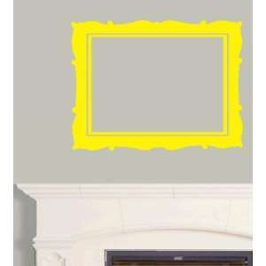 Yellow Large Picture Frame Art Wall & Window Decal