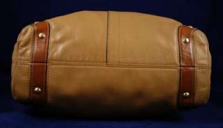 COACH Extra Large *Camel* Leather CARLY HOBO Bag 10616