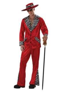 70s & 80s Sweet Daddy Pimp Mens Adult Halloween Costume
