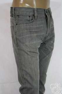 LEVIS JEANS 521 Slim Fit Tapered Leg Soft Black Denim Mens Pants New