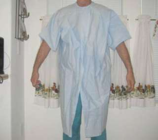 Gown Patient Exam Surgical  NEW Blue  Universal