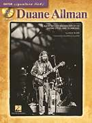 Duane Allman Guitar Signature Licks Tab Book Cd NEW