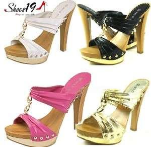 High Heels Bridal Dress Bridesmaids T  Strap Dance Women Shoes