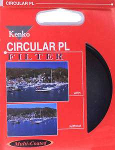 Kenko Multi Coated Circular Polarizer PL Filter 62mm 62 033155101247