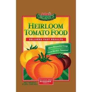 Jobes Organics 8 Lb. Heirloom Tomato Food Dry Plant Fertilizer 09028