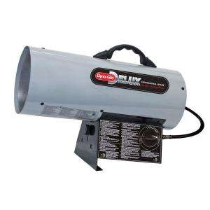 Dyna Glo Delux 100k 150k BTU Propane Forced Air Heater RMC FA150DGD at