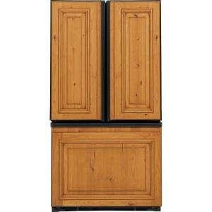 20.9 cu. ft. 35.875 in. Wide French Door Refrigerator Counter Depth