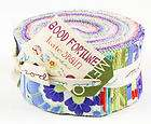 Moda *GOOD FORTUNE * Jelly Roll 40 2.5 Quilt Fabric Strips by Kate