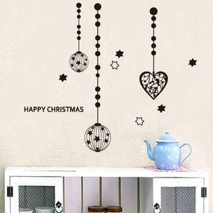 Christmas Balls Home Decor Art Wall Sticker Vinyl Decal
