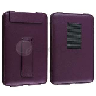 For B&N Nook Color Flip Stand Portable Folio Leather Case Cover Pouch