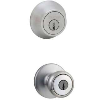 and Single Cylinder Deadbolt Combo Pack 690T 26D CP