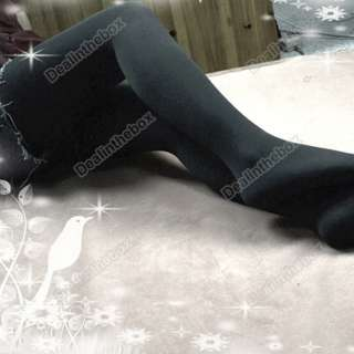 Fashion elastic Winter Lined Opaque Tights Pantyhose Warm Thick